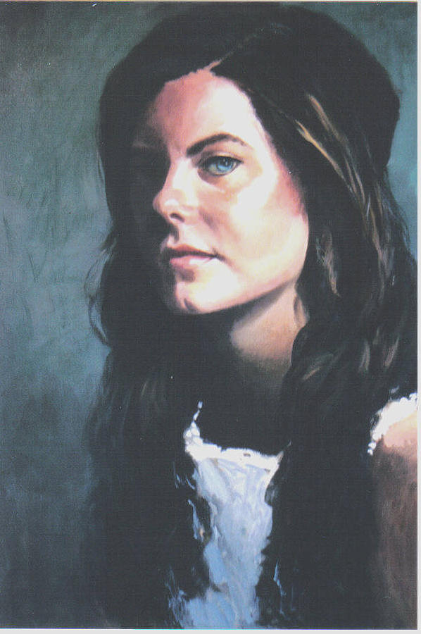 Portrait Painting - Jesse by John L Campbell