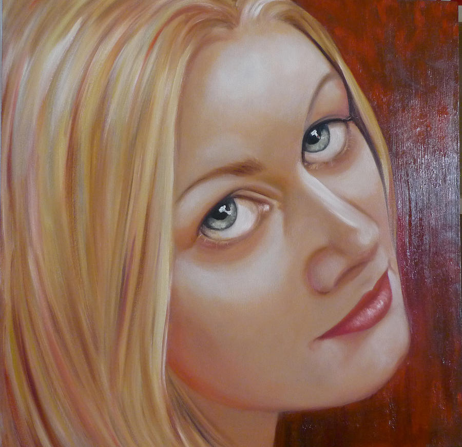 Portrait Painting - Jessica by Gay Henderson
