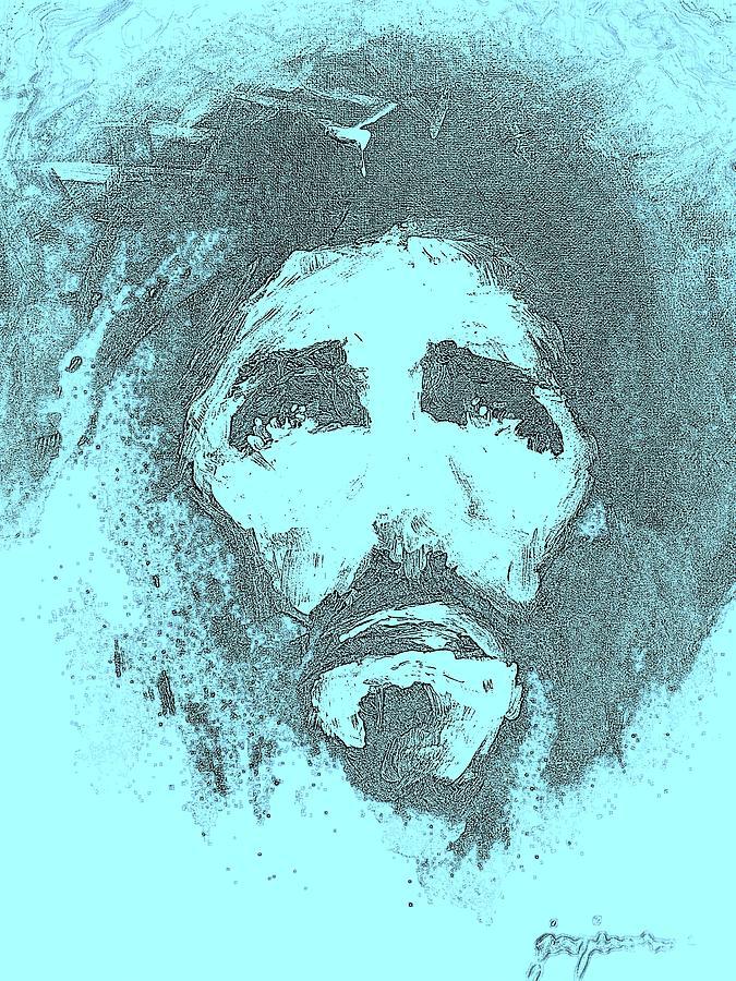 Jesus Digital Art - Jesus - 3 by Jun Jamosmos
