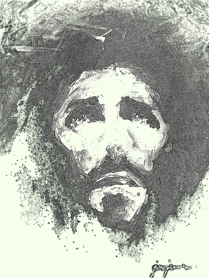 Jesus Digital Art - Jesus - 4 by Jun Jamosmos