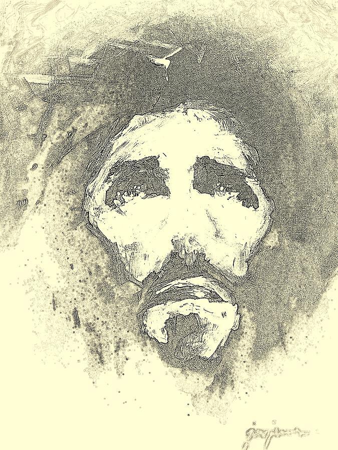 Jesus Digital Art - Jesus - 6 by Jun Jamosmos