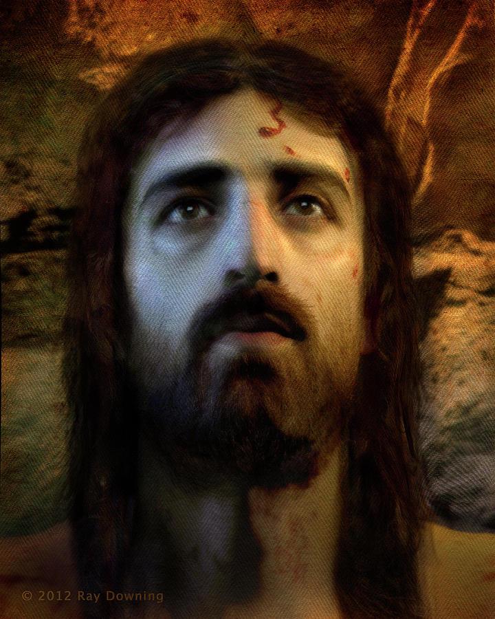 Jesus Digital Art - Jesus Alive Again by Ray Downing