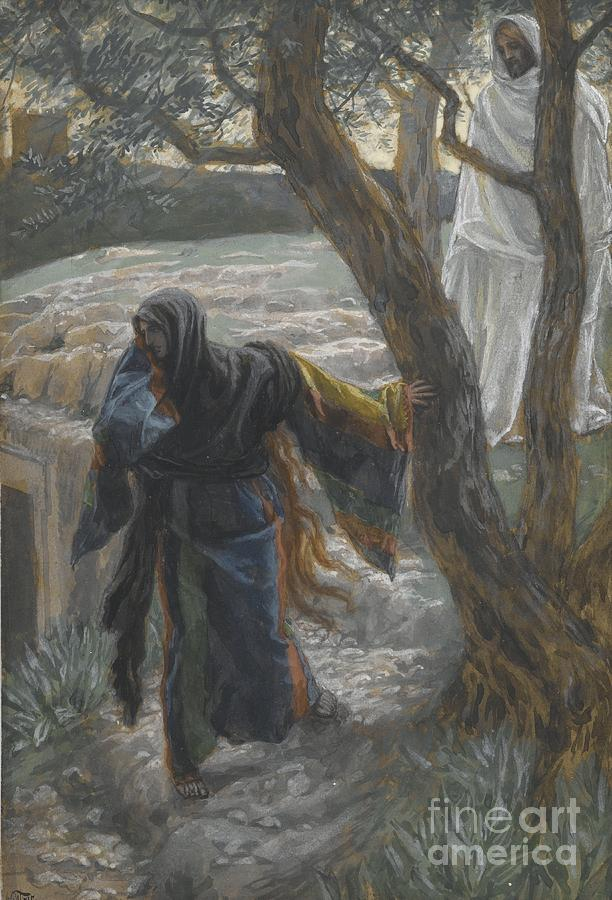 Tissot Painting - Jesus Appears To Mary Magdalene by Tissot
