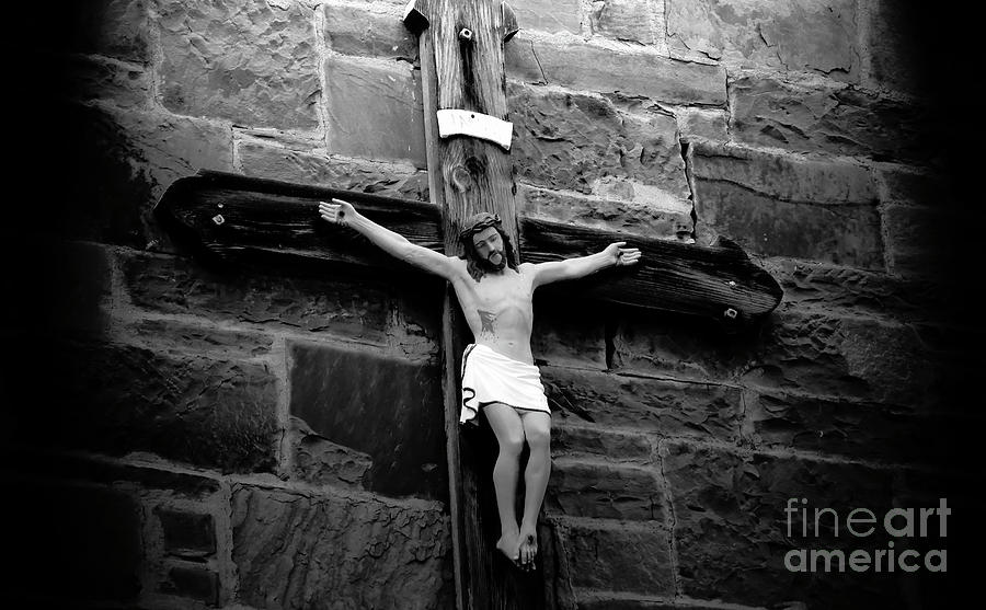 Fine Art Photography Photograph - Jesus Christ by David Lee Thompson