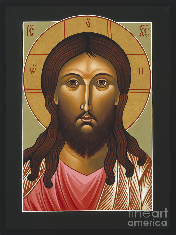 Jesus Christ Holy Forgiveness 040 Painting by William Hart McNichols