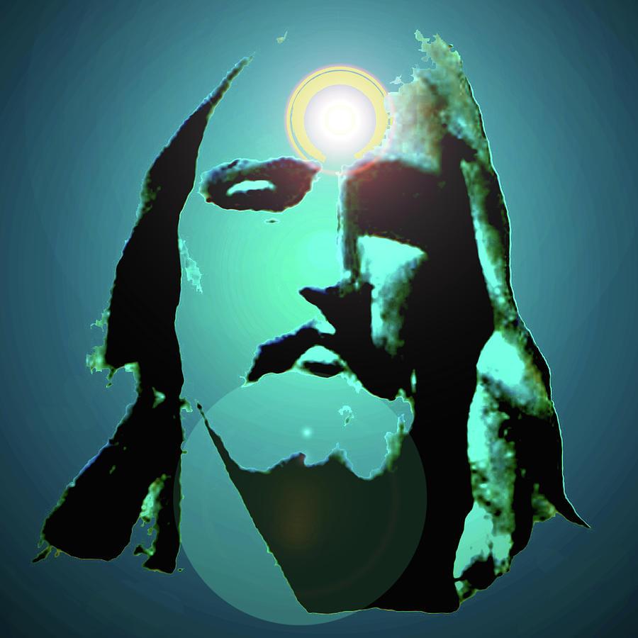 Catholic Spirituality Mixed Media - Jesus Christ No. 02 by Ramon Labusch