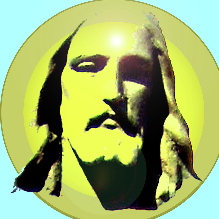 Catholic Spirituality Mixed Media - Jesus Christ No. 03 by Ramon Labusch