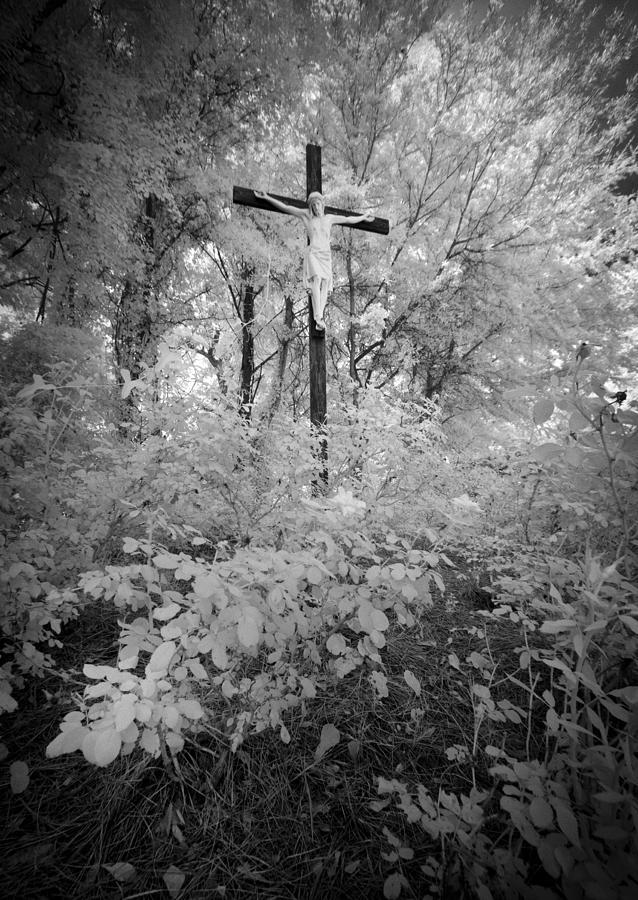 Jesus Christ On Cross Savannah Georgia by Bradley R Youngberg