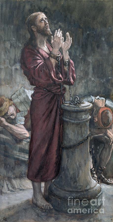 Jesus Painting - Jesus In Prison by Tissot