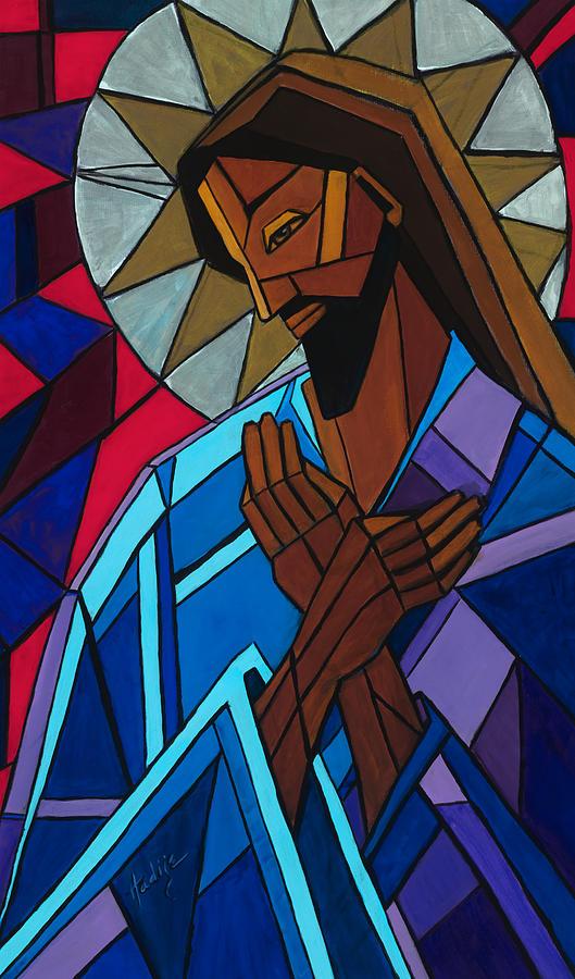 Jesus Painting - Jesus by Mary DuCharme