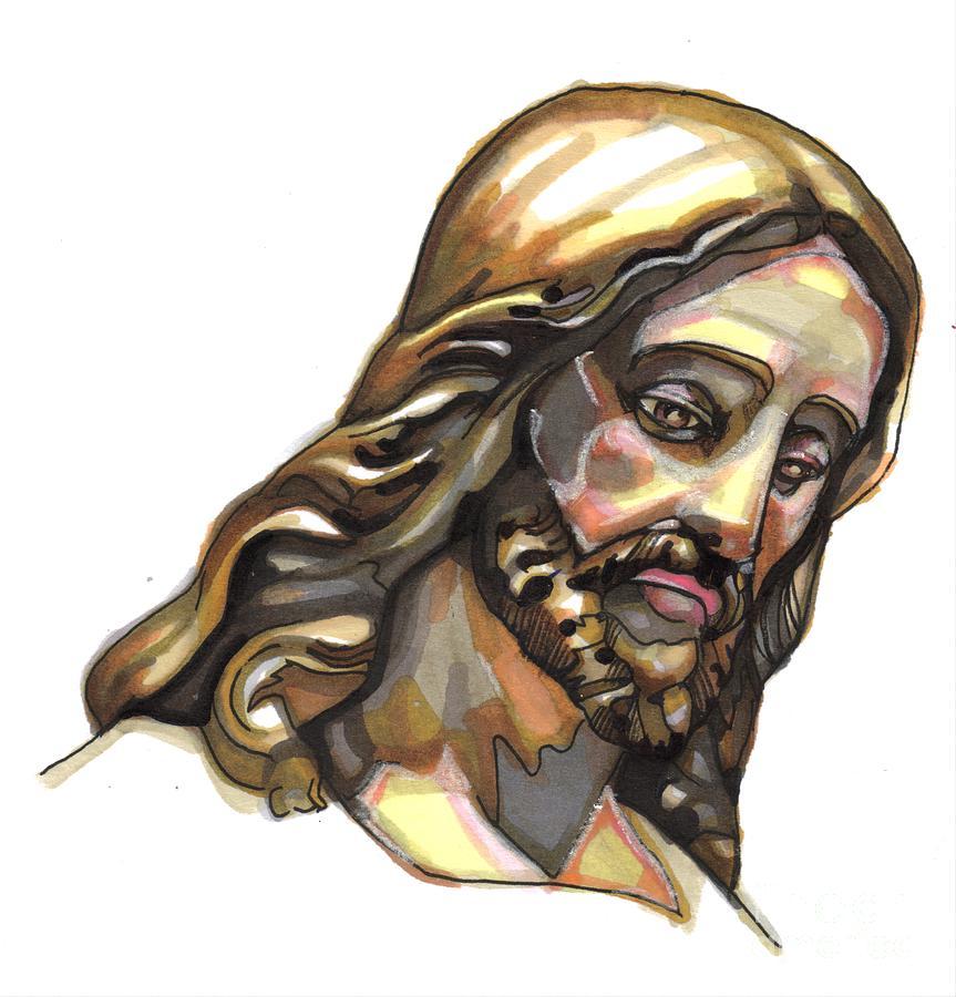 Jesus Painting - Jesus No 3 by Edward Ruth