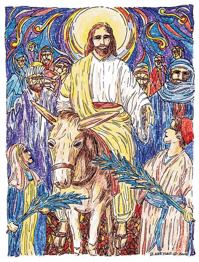 https://images.fineartamerica.com/images/artworkimages/mediumlarge/1/jesus-on-palm-sunday-brent-kastler.jpg