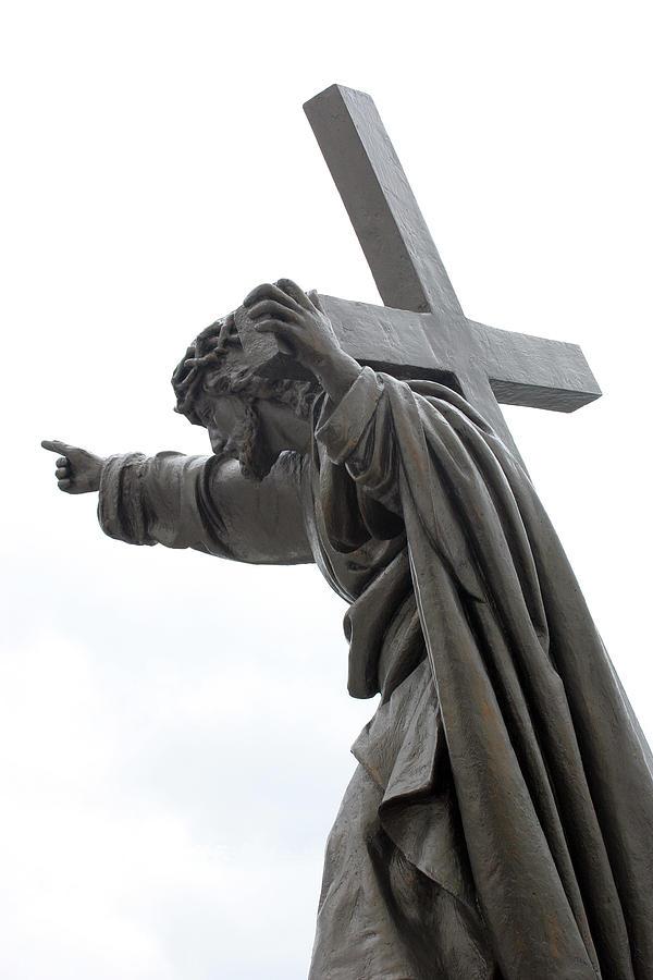 Jesus Photograph - Jesus by Stanislovas Kairys