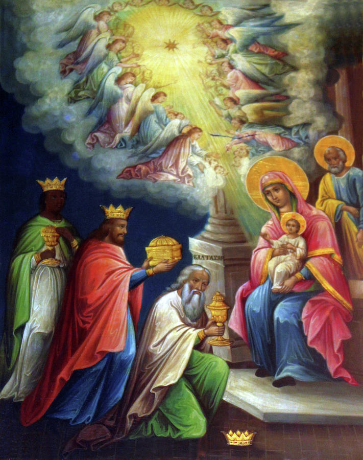 Jesus Photograph - Jesus The King by Munir Alawi