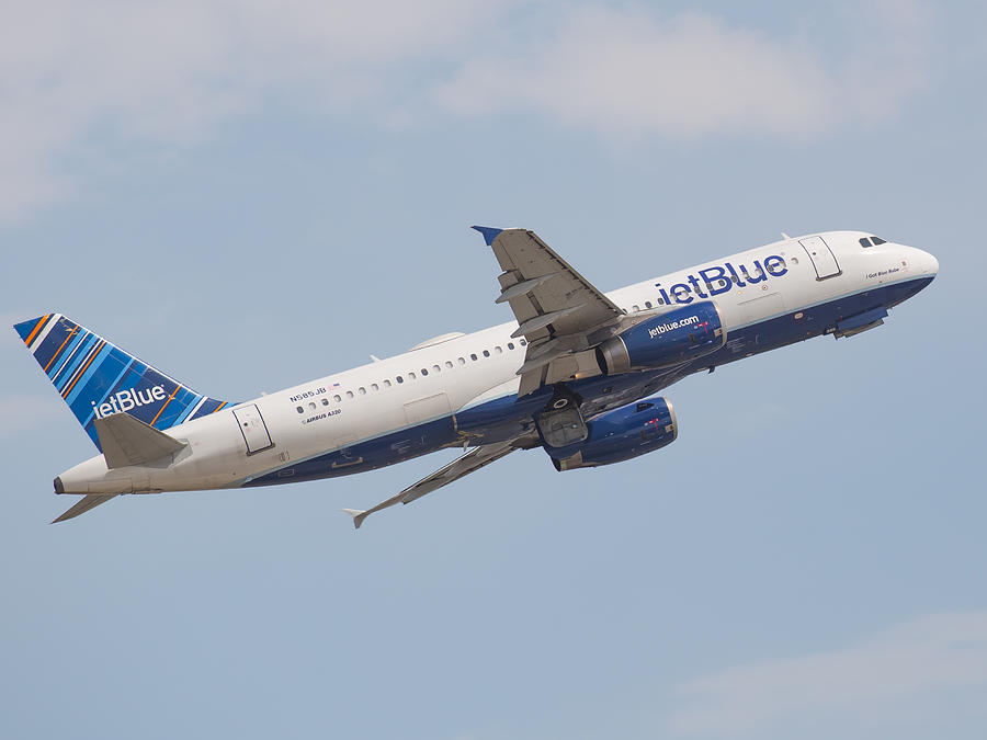 Jet Blue Photograph by Dart and Suze Humeston