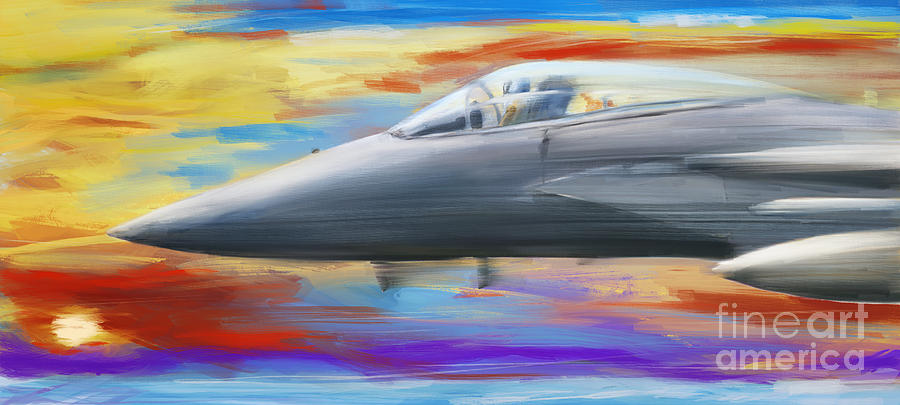 Jetfighter speed by Jan Brons
