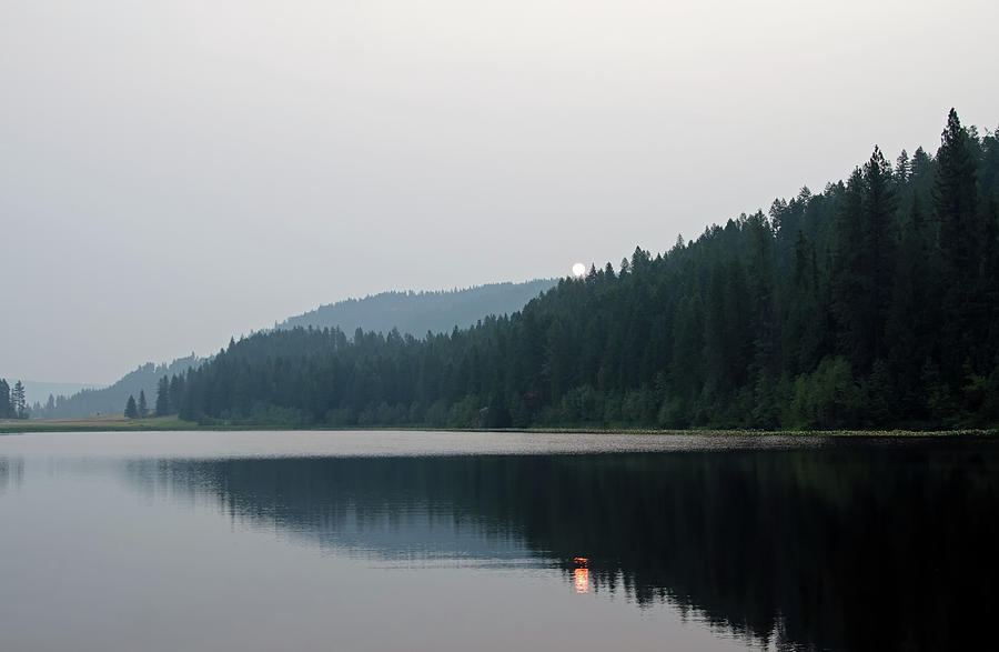 Lake Photograph - Jewel Lake Morning by Debra Baldwin