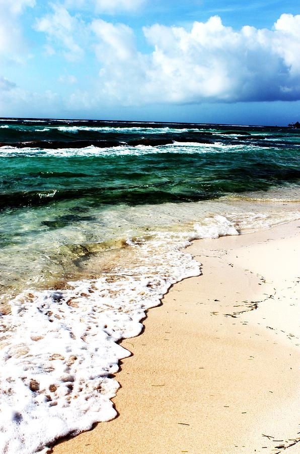 Ocean Photograph - Jewel Shore by Halle Treanor