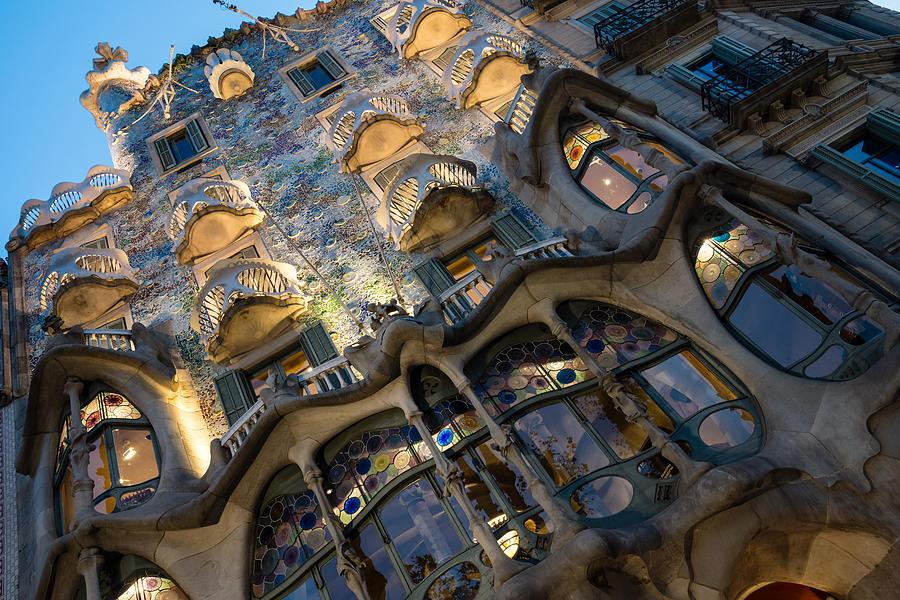 Jewel Toned Masterpiece - Antoni Gaudi Casa Batllo in Barcelona, Spain by Georgia Mizuleva
