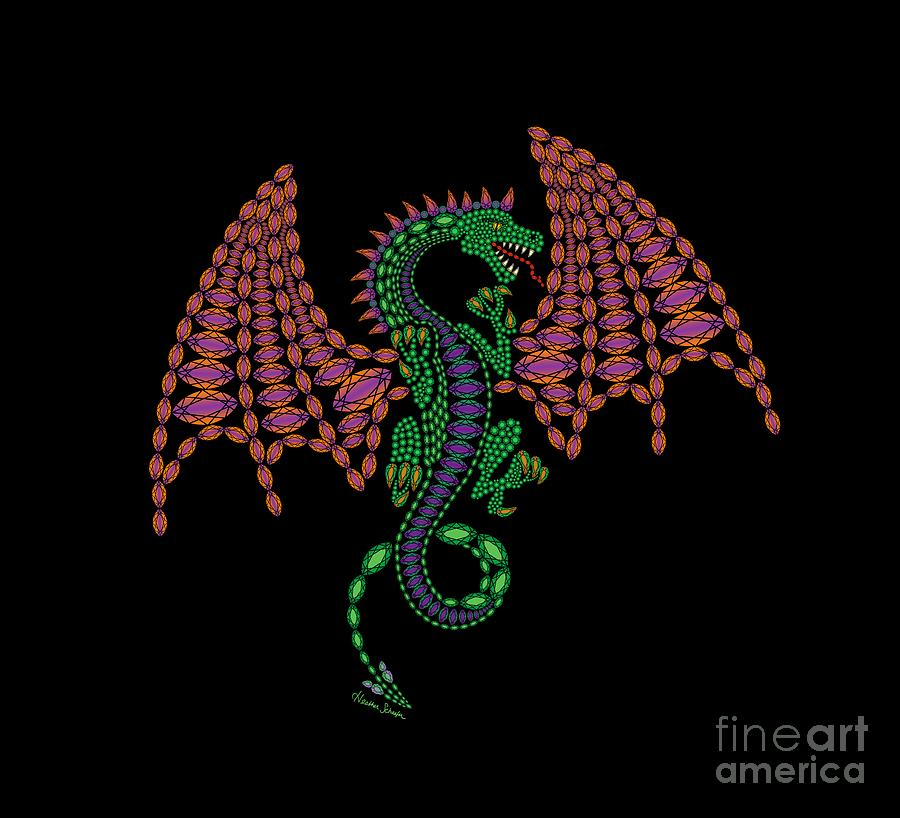 Jeweled Dragon by Heather Schaefer