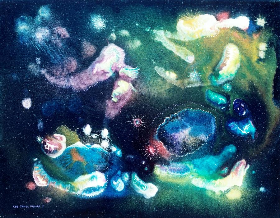 Spiritual Painting - Jeweled Pegasus by Lee Pantas