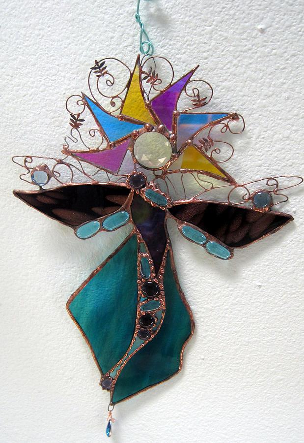 Goddess Glass Art - Jewelsun by Maxine Grossman