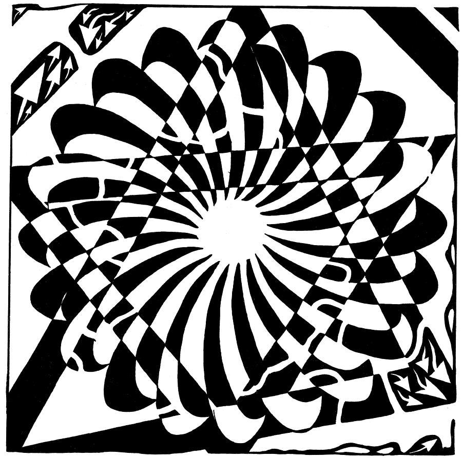 Jewish Drawing - Jewish Pride Maze  by Yonatan Frimer Maze Artist
