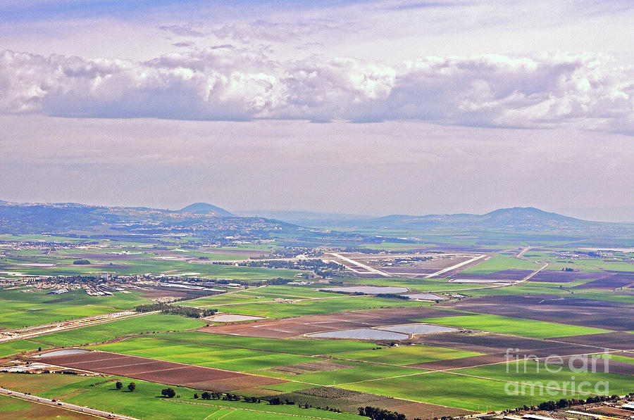 Valley Photograph - Jezreel Valley by Lydia Holly