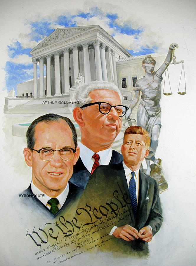 JFK-JUSTICES by Cliff Spohn