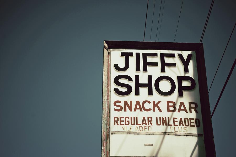 Jiffy Shop Photograph