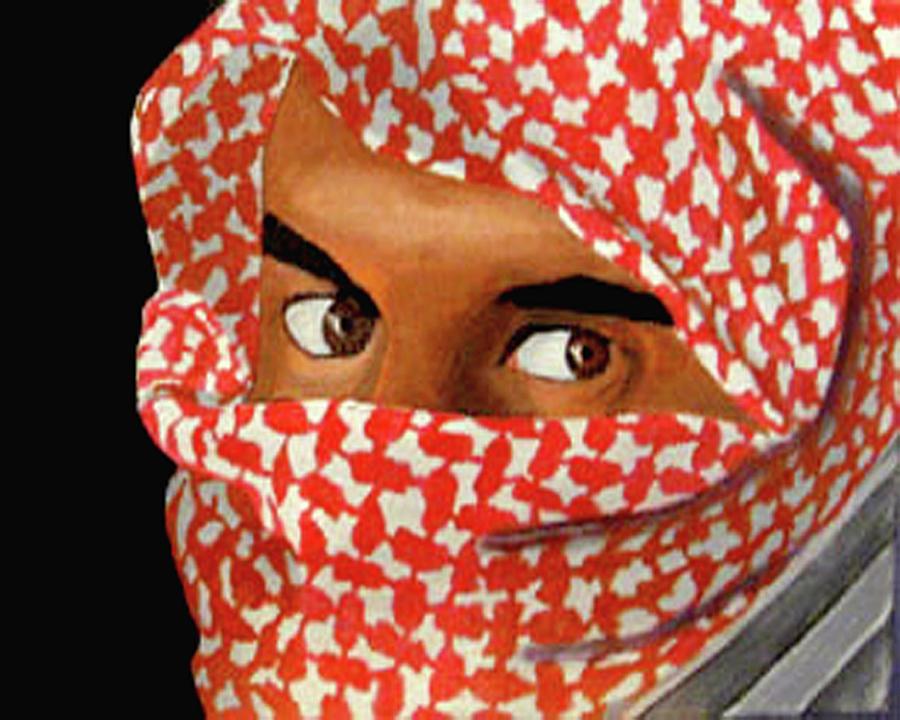 Iraqi Painting - Jihadi by Darren Stein