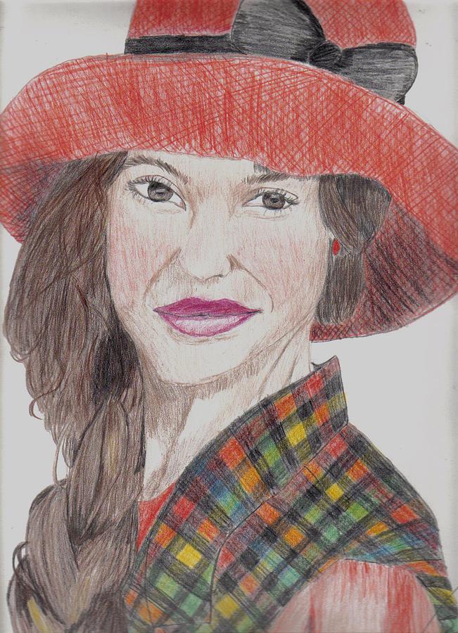 Portrait Drawing - Jill by Thomasina Marks