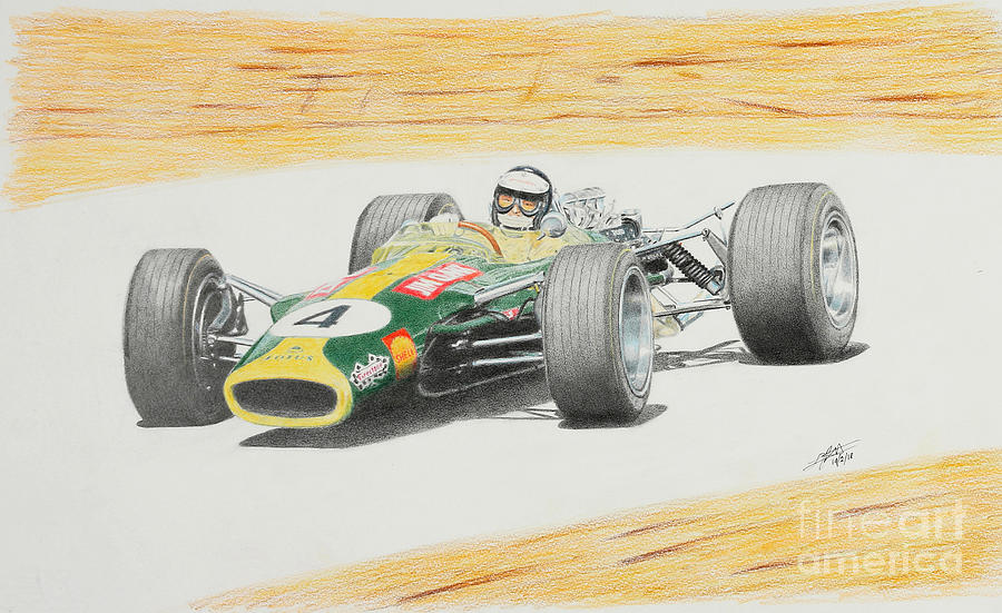 Jim Clark last GP - Lotus  by Lorenzo Benetton