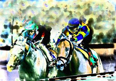 Horse Racing Digital Art - Jim Dandy by Gary Rogers