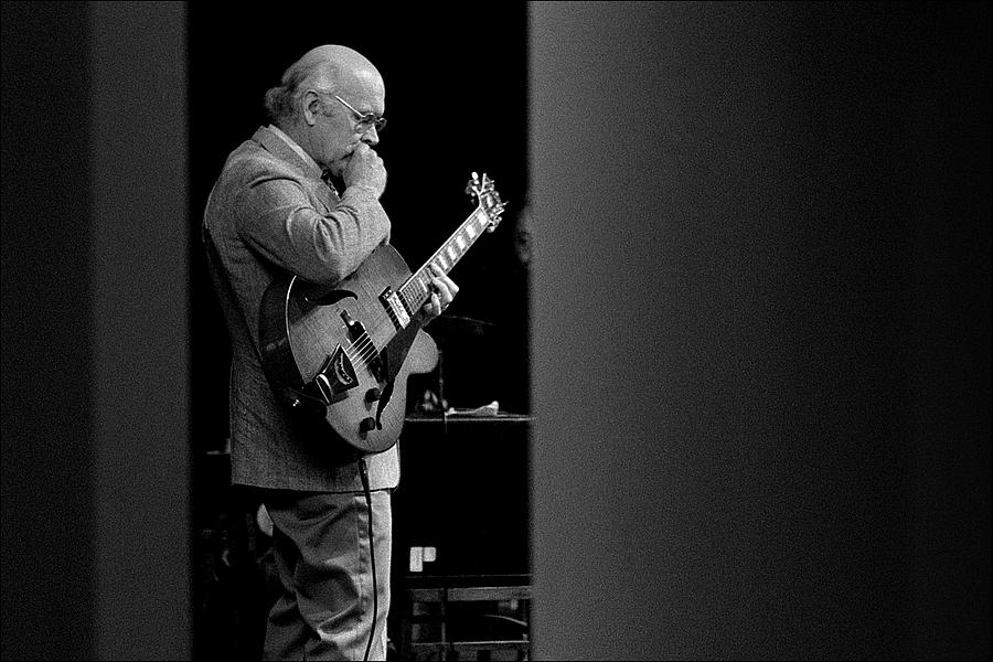 Music Photograph - Jim Hall by Jos L Knaepen