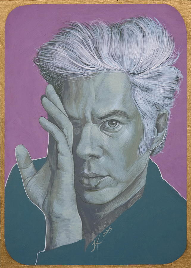 Jim Jarmusch Painting - Jim Jarmusch by Jovana Kolic