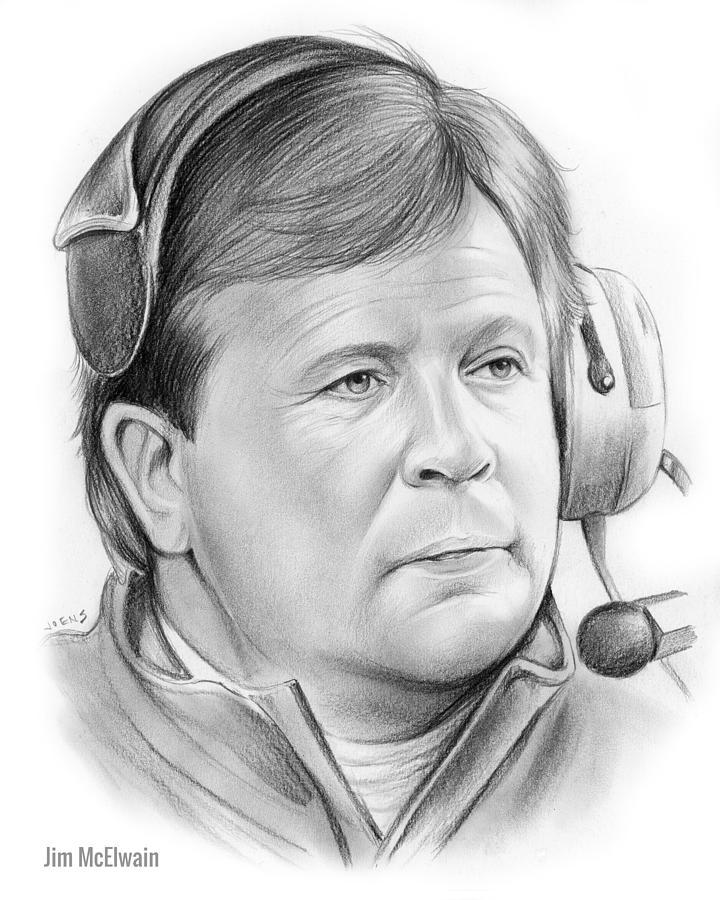 Jim Mcelwain Drawing