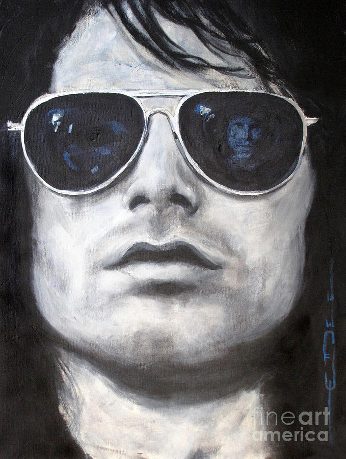 The Doors Painting - Jim Morrison IIi by Eric Dee