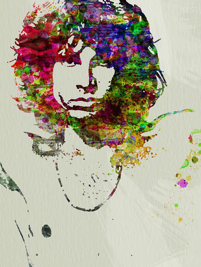 Jim Morrison Painting - Jim Morrison by Naxart Studio