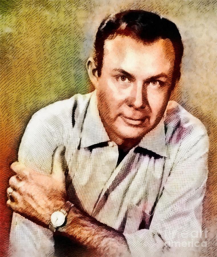 Jim Reeves, Music Legend By John Springfield Painting