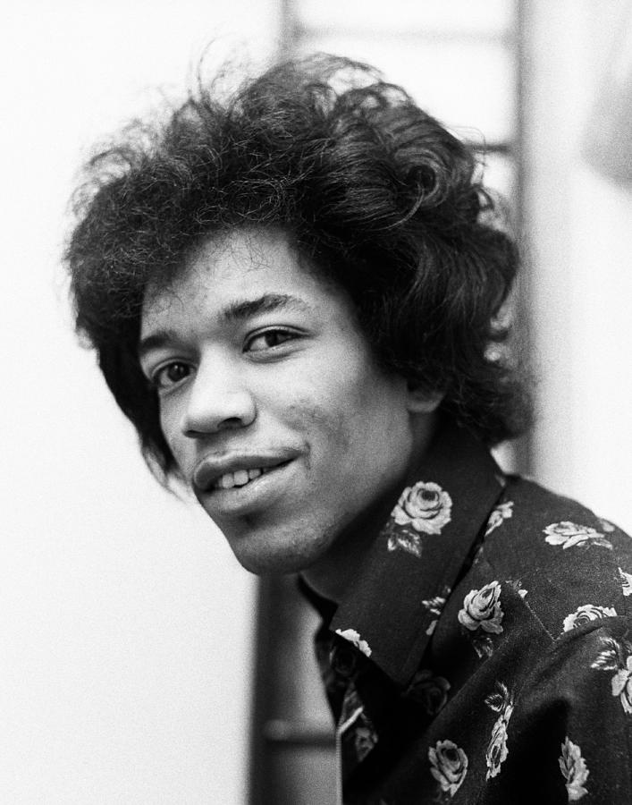 Jimi Hendrix 1966 Photograph By Chris Walter