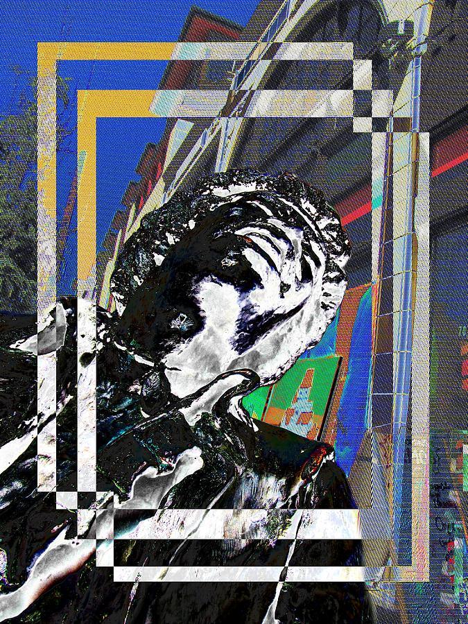 Jimi Hendrix Digital Art - Jimi Hendrix 3 by Tim Allen