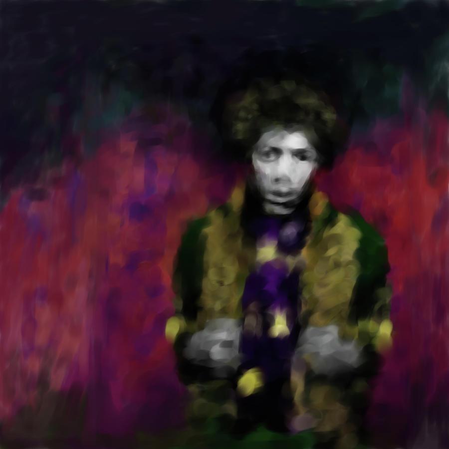 Jimmi Hendrix Painting - Jimi Hendrix 550 1 by Mawra Tahreem
