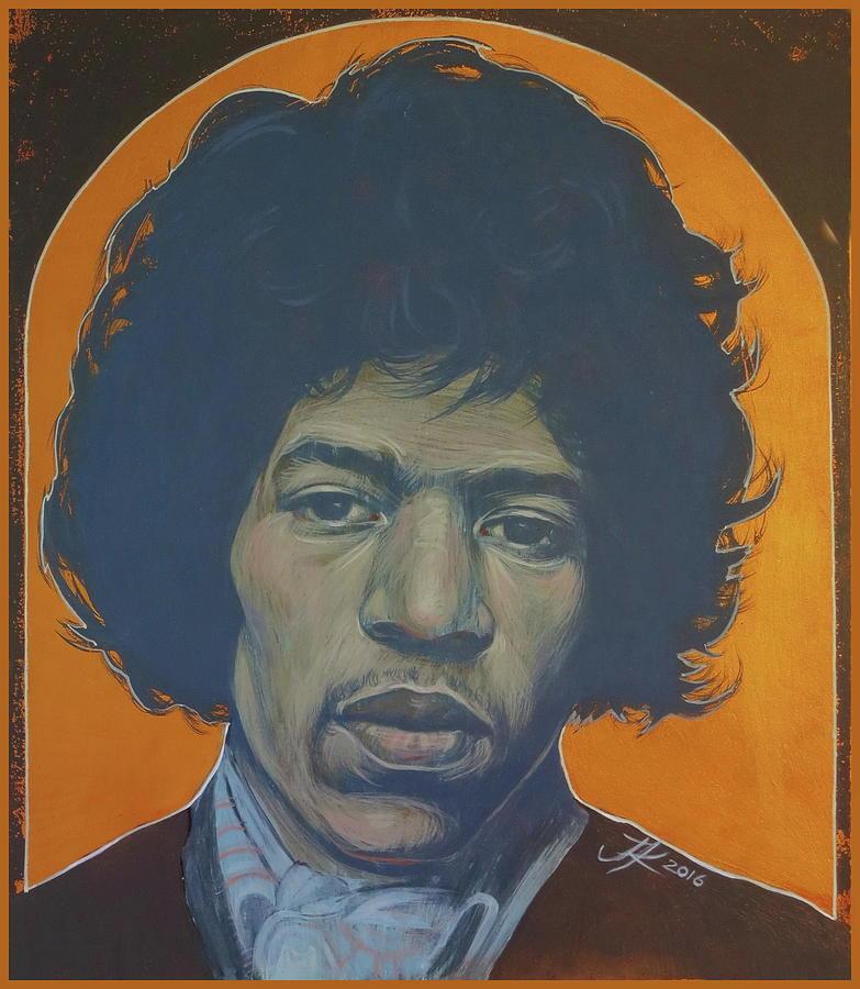 Jimi Hendrix Painting - Jimi Hendrix by Jovana Kolic