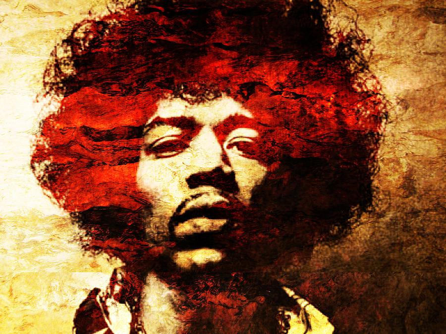 Jimi Hendrix Photograph - Jimi Hendrix by J  - O   N    E