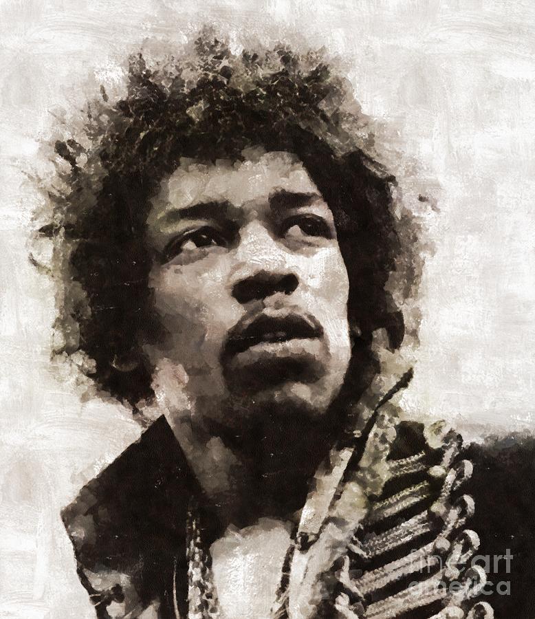 Jimi Hendrix, Legend Painting