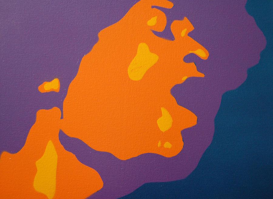 Jimi Hendrix Painting - Jimi Hendrix by Michael Ringwalt
