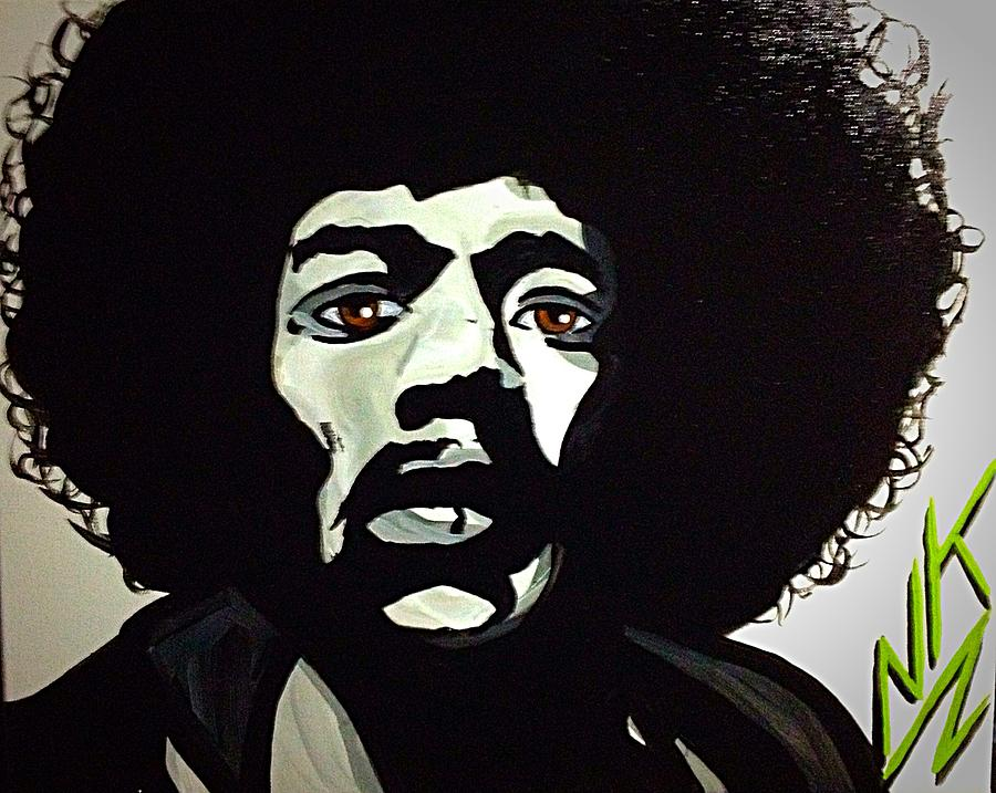 Jimi Hendrix by Nevets Killjoy