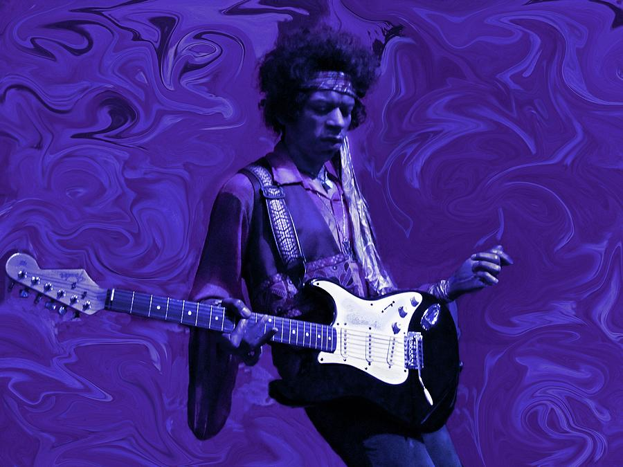 Jimi Hendrix Purple Haze Photograph
