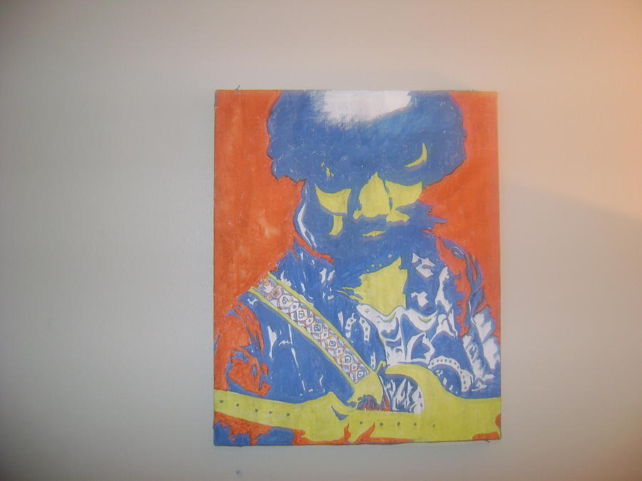 Jimi Painting by Michael Mohon